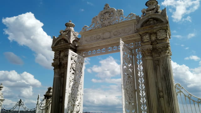 Eastern Gate of the Dolmabahce Palace video