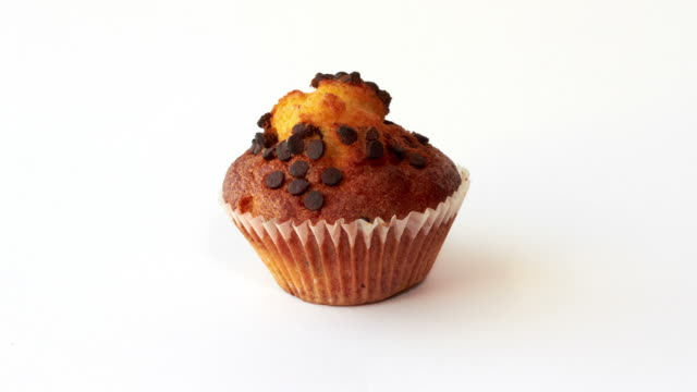 Eating muffin Stopmotion video