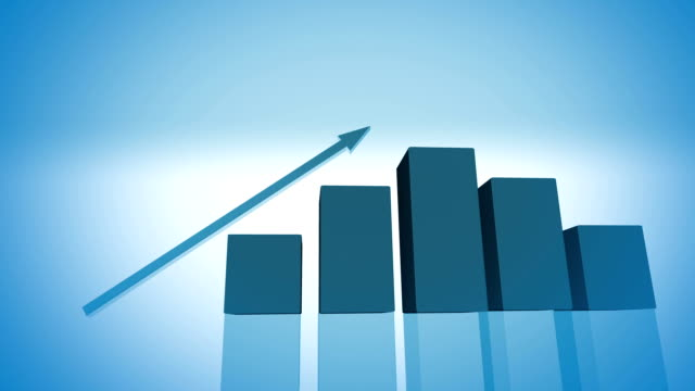 economic growth graphic (HD)