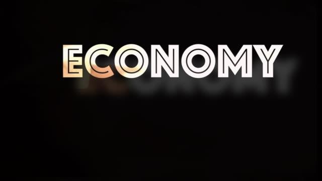 Economy growth computer graphic
