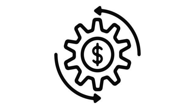 economy line motion graphic - pflicht stock-videos und b-roll-filmmaterial