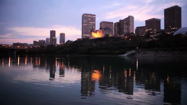 Edmonton Skyline video