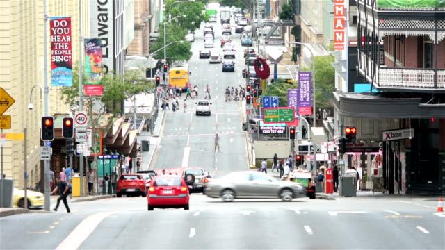 Edward Street in Brisbane video