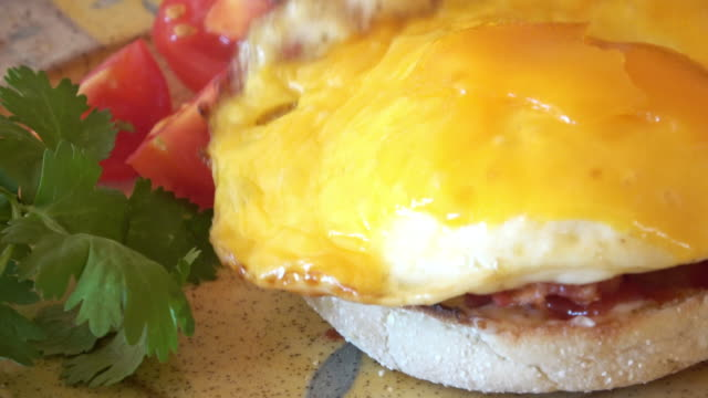 Egg Muffin Breakfast Sandwich video