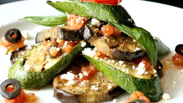 Eggplant zucchini video