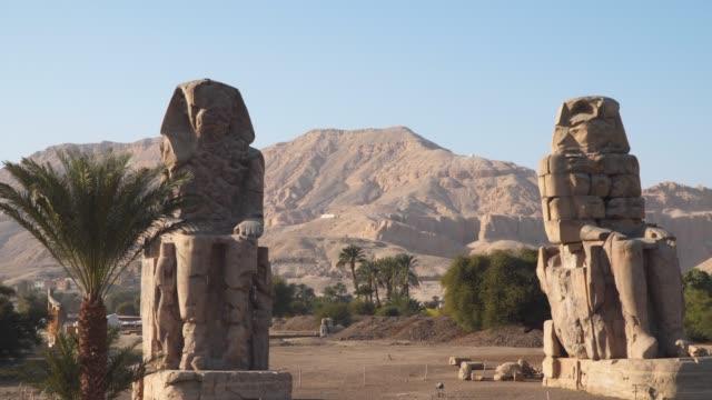 Egypt art. The Colossi of Memnon