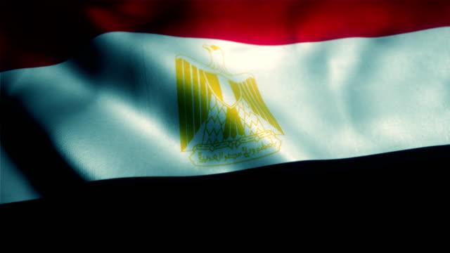 egypten flagga, egyptisk flagga - egyptisk kultur bildbanksvideor och videomaterial från bakom kulisserna