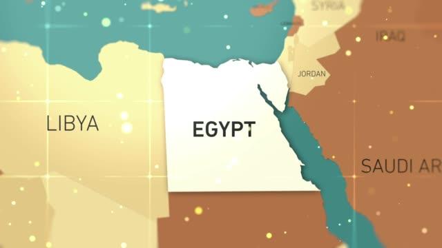 egypten på världskartan stock video - egyptisk kultur bildbanksvideor och videomaterial från bakom kulisserna