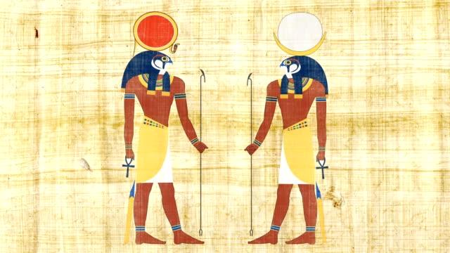 Egyptian Gods Ra And Khonsu video