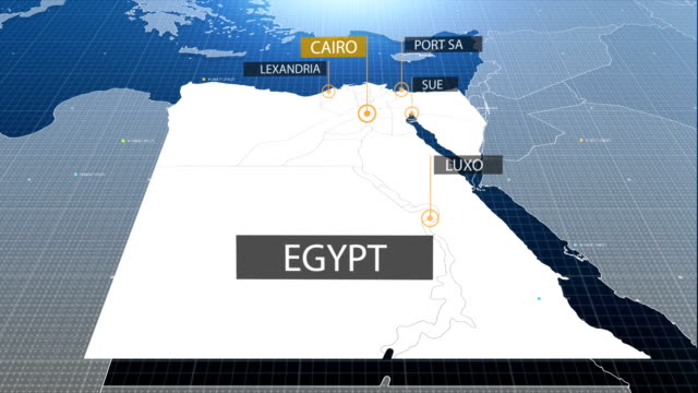 egyptian map video