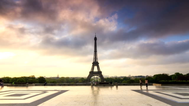 hyperlapse Eiffel - vídeo