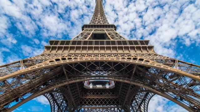 Eiffel Tower in Paris video