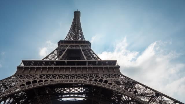 EIffel tower, Time Lapse, 4K(UHD)