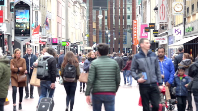 eindhoven city center - dutch architecture stock videos & royalty-free footage