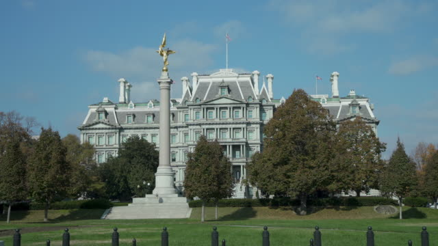 Eisenhower Executive Office Building - White House Offices in 4k/UHD video