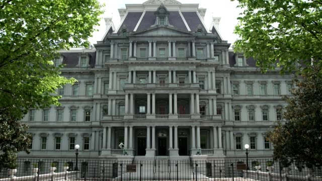 Eisenhower Executive Office Building - White House West - Zoom In video