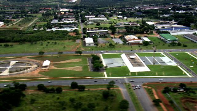 Eixo Monumental-vista aérea-Distrito Federal, Brasília, Brasil - vídeo