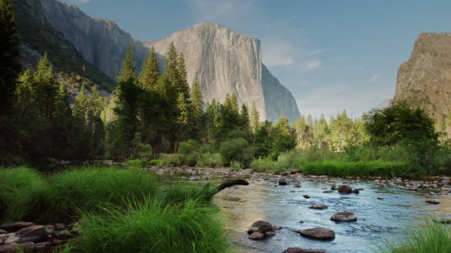 El Capitan and the Merced River video