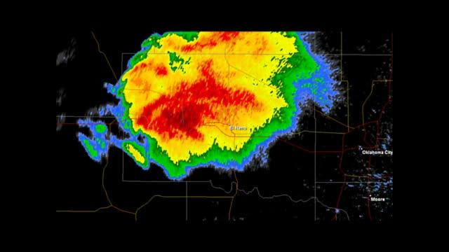 El Rino, Oklahoma 2013 Tornado Doppler Radar video