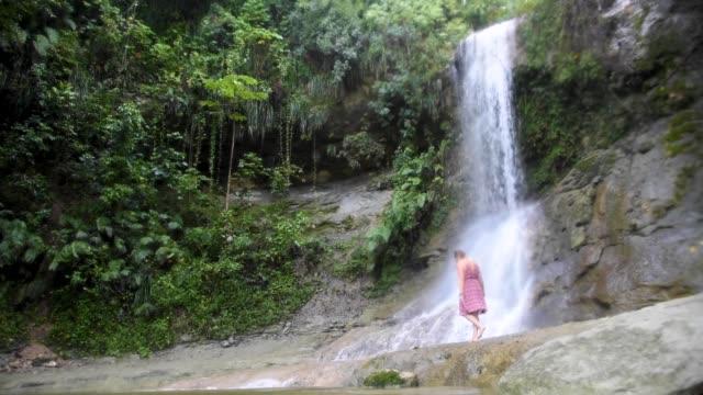 El Yunque National Forest in Puerto Rico Exploring El Yunque National Forest in Puerto Rico puerto rico stock videos & royalty-free footage