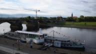 istock elbdampfer cruise motir ship at river Elbe, Dresden, Germany 1255959194