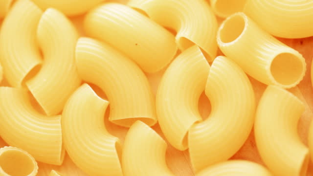 Gomiti Pasta  uncooked pasta stock videos & royalty-free footage
