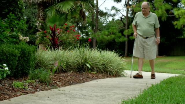 Elderly Man Injured video