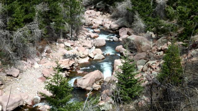 Eldorado Canyon State Park in Colorado. This is a video of various landscapes in the Eldorado Canyon State Park in Colorado. canyon stock videos & royalty-free footage