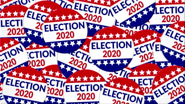 wahl 2020 - politische wahl stock-videos und b-roll-filmmaterial
