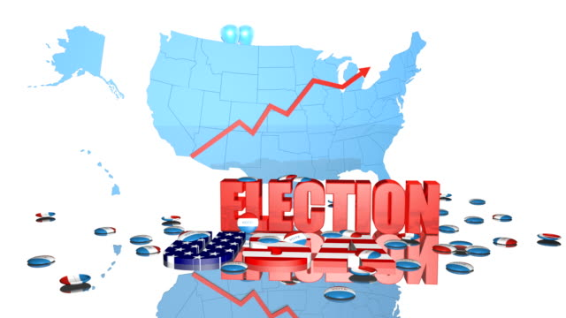 Election USA HD video