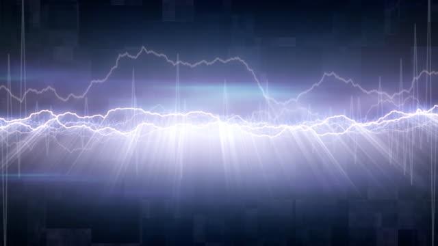 Electric Background 06 - Loop video