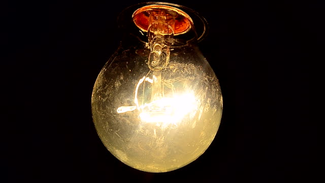 Electric bulb with sound video