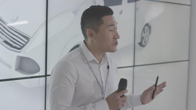 Electric Car Manufacturing Design Team video