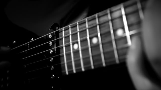 Electric Guitar - Cinematic Look, Steadicam Shot video