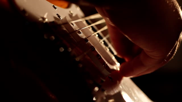 Electric Guitar Low Angle Shadows video