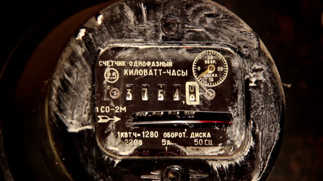 Electric Meter Dirty video