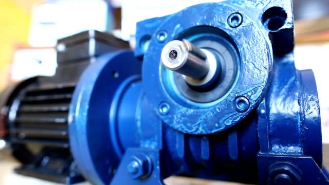 silnik elektryczny - silnik filmów i materiałów b-roll