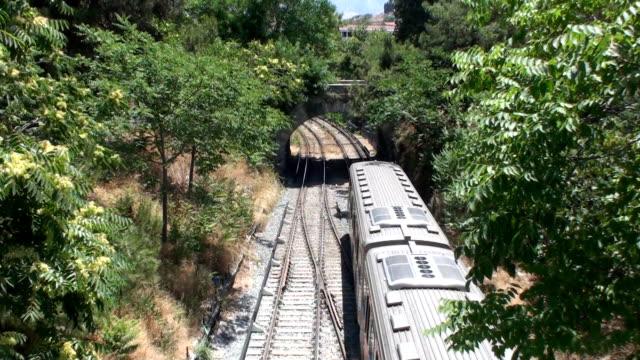 pociąg elektryczny (thisio, ateny - intercity filmów i materiałów b-roll