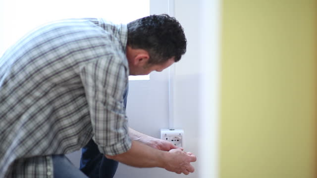 Electrician At Work, Full HD Photo JPEG video