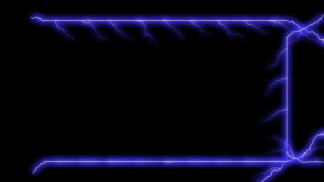 electricity frame - electrical arcs (+alpha matte) - 高清電視 影像的技術 個影片檔及 b 捲影像