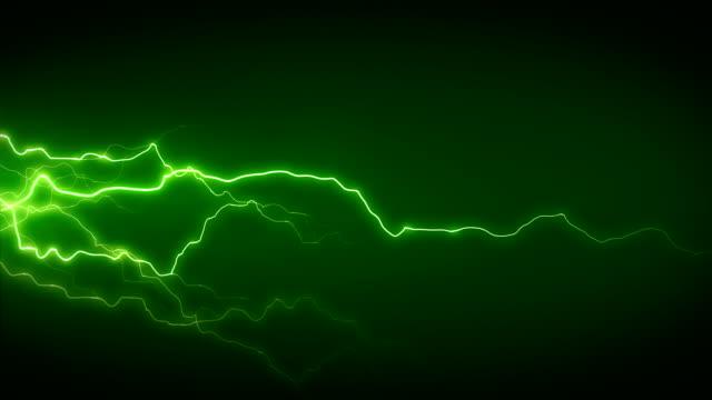электричество зеленой стороне - lightning стоковые видео и кадры b-roll