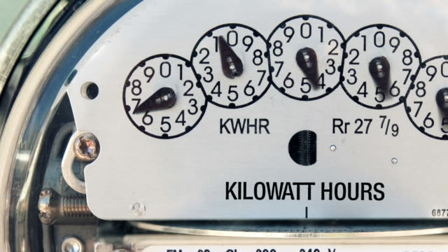 Electricity Meter (Time-lapse) video