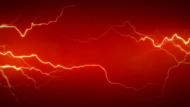 электричество оранжевый спереди - lightning стоковые видео и кадры b-roll
