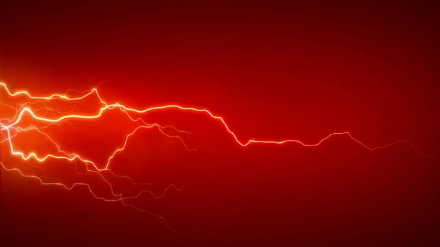 электричество оранжевый сбоку - lightning стоковые видео и кадры b-roll