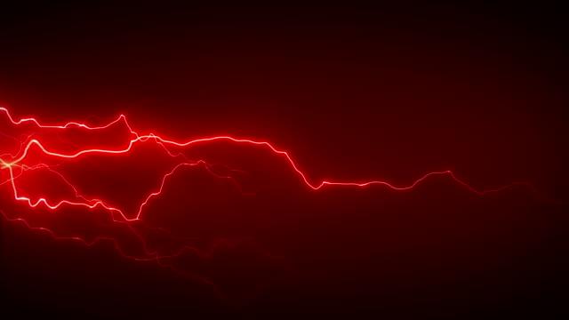 электричество красный сбоку - lightning стоковые видео и кадры b-roll