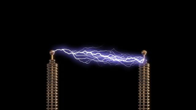 elettricità - cavo dell'alta tensione video stock e b–roll