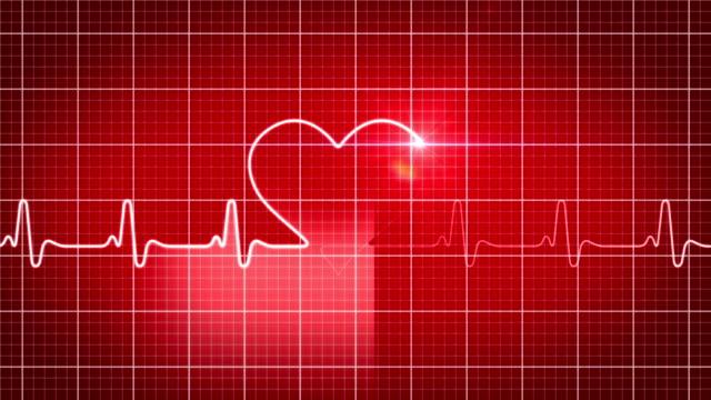 EKG electrocardiogram heart concept 2 video