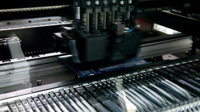電子回路基板、アサンドロス回路 - 半導体点の映像素材/bロール