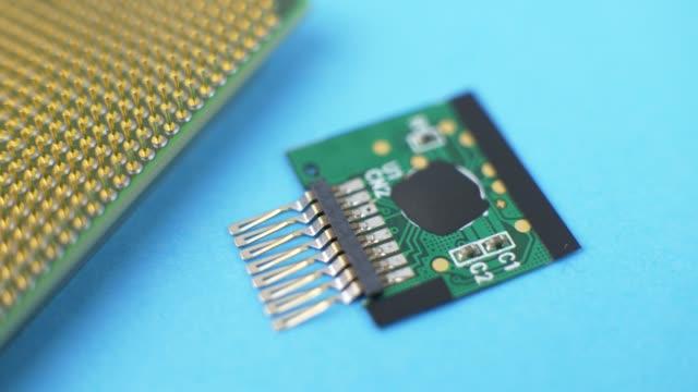電子グリーン回路基板 - グリーティングカード点の映像素材/bロール