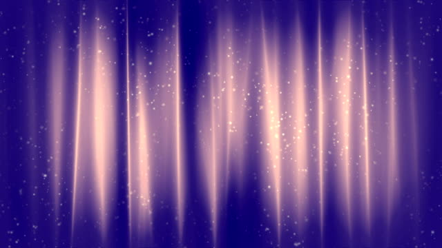 Elegant Curtains Blue Loopable Background video